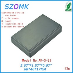 small plastic enclosures electric case