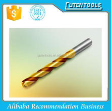 3mm hss 4341 straight shank twist drill bits fully ground bright finished