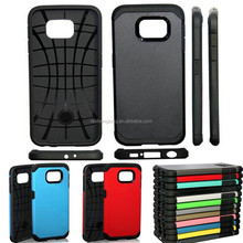 For Galaxy S6 Hybrid TPU+PC Silicone SGP Tough Armor Hard Cell Phone Back Case Cover witn 2 in 1 shockproof For Samsung G9200