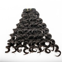 grade 8a raw unprocessed tangle free peruvian human hair extension jerry curl