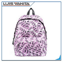 Women's Trendy Printed Daily Backpack Rucksack, 20L Fits 14-inch Laptop Bag
