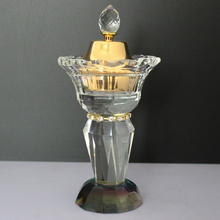 latest design Pujiang County K9 diamond crystal incense burners for sale