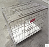 wholesale foldable stainless steel pet cage