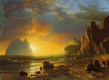 Top quality handmade painting on canvas of classical scenery