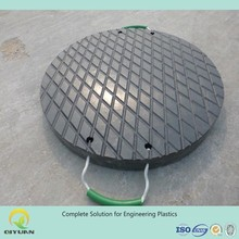 Customized heavy and light duty crane leg support/ UHMWPE outrigger plastic stabilizer pads/ hard HDPE panel