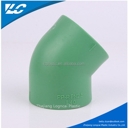 45 DEG PVC Elbow SCH40 For Pressure PPR Pipe Water Supply/UPVC Elbow 45 Degree Fiiting