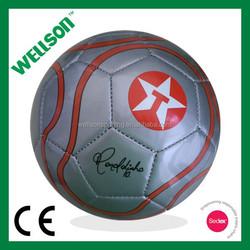 Machine sewn promotional size 1 football