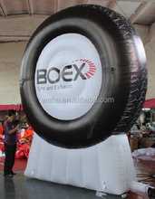Best selling!!! 13ft Advertising inflatable tire/inflatable tire for advertisment/tire advertising inflatable W704