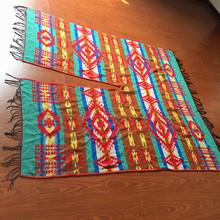 Fashion colorful jacquard shawl
