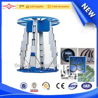 china lighting car rotating stage lifter reliable hydraulic scissor lift platform