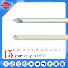 High temperature silicone insulated flexible wire conduit