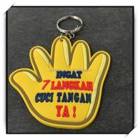 High-quality soft PVC cartoon keychain, silicone keychain