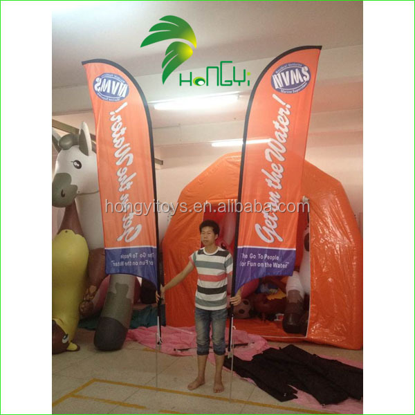 2015 Hot Selling Customized Advertising Beach Flag (8)