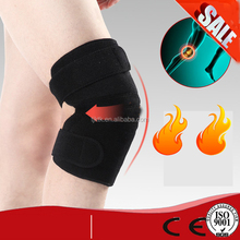 Permanent magnetic knee support wrap sleeve