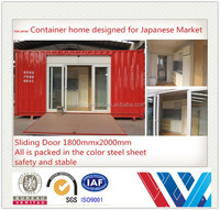 Steel structure container trailer prime quality container shop,japan container house