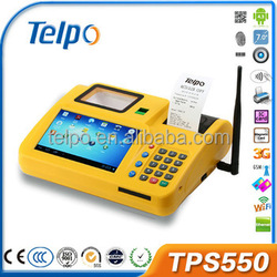 Telpo TPS550 Dual SIM All in One Android Desktop Touch Screen POS Machine