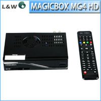 300Mbps wifi 800mhz CPU MagicBox 1080P hd tv receiver MG4 HD three tuner tv built-in wifi magicbox mg4 hd 4k satellite receiver