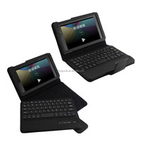 Detachable bluetooth keyboard leather case cover for Google Nexus 2 7 inch