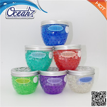 190g own design crystal bead air freshener/fragrance ball Top sale/ home perfume