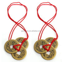 Top Quality Best Price 2 Sets Of 3 Chinese Feng Shui Coins For Wealth And Success Lucky