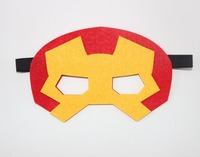 New Product Birthday Decoration Super Hero Felt Mask