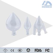 Scientific Glassware Borosilicate Glass Pear Shape Flasks,Heavy Wall,Single Neck flask