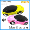 Hot selling 2.4G usb cute car shaped wireless mouse