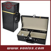 Wine Bottle Box Case Carrier PU Leather Gift Set Wine Bottle Carrier Storage Gift Box Leather Handle