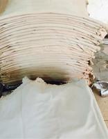 Beige color pig split leather for shoes, pig split leather, pig second layer, pig skin, genuine pig leather