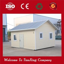 Temporary students movable EPS cheap one layer prefab house