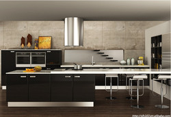 Wall Kitchen Cupboards Designs Kitchen cabinet wood material home furniture guangzhou