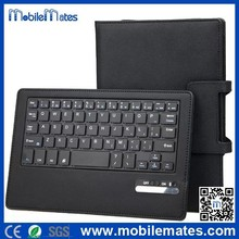 Commercial Style Detachable Bluetooth Keyboard Case, High Quality Flip Keyboard Leather Case for Dell 7840, Keyboard Cover Case