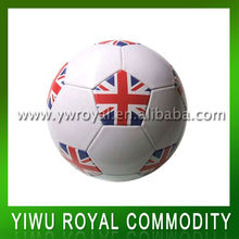 Promotional UK Flag Printed 2014 World Cup Soccer Ball