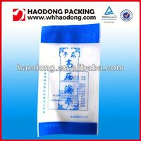 custom plastic flexile packaging food bag with hanging hole