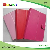 7 inch tablet pc leather case leather tablet case Manufacturers