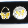 butterfly purse hook mirror set of gifts magnifying mirror gold