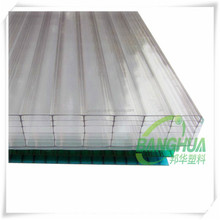 polycarbonate solar panels /10 mmhollow flat roof greenhouse
