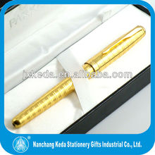 gold parker pen with fast delivery and low MOQ