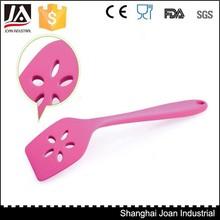 Red five hole plum flower shape silicone kitchen utensils
