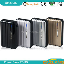 power bank solar/hand lamps mobile portable power bank/battery power with dual USB output,ABS+PC