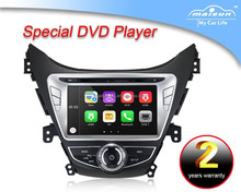 OEM car multimedia player dvd player for Hyundai Elantra 2011 support GPS/BT/RADIO/MP3/MP4/IPOD/PIP
