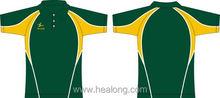 Healong Custom-Made Spandex Polo Shirt Cotton Elastane