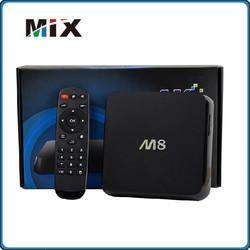 quad core amlogic m8 android tv box s802 quad core android 4.4 smart OTT tv box arabic iptv set m8 android tv box