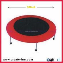CreateFun 36inch mini folding popular Outdoor Fitness Exercise Equipment Trampoline bed