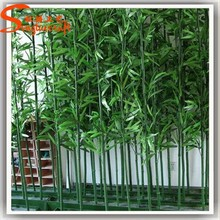 plastic artificial large colored bamboo poles cheap price wholesale for sale natural trunk leaves bamboo fence fencing decor