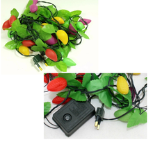 YUWU Caddy SDZS-102 Christmas solar string light, led string light, with voice control