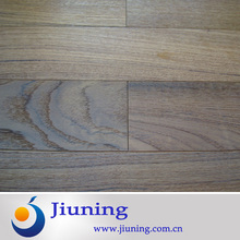 teak wood flooring wide plank / smooth