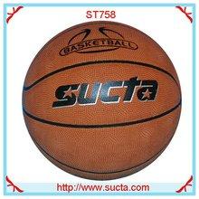 High quality PU basketball balls ST758
