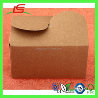 J242 Eco Friendly Handmade Kraft Paper Biscuit Cookie Box Packaging Wholesale