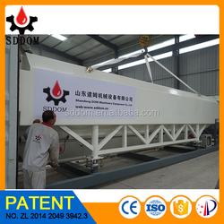 Wheel type cement silo, Mobile cement silo, Horizontal cement silo